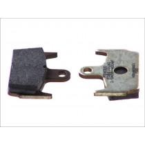 Kočne obloge Rear argento-AG 59 1x44 6x9 6mm HONDA X8R/ SZX