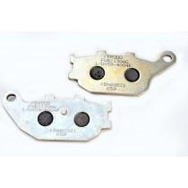 Kočne obloge Rear argento-AG 86 1x40 2x8 9mm