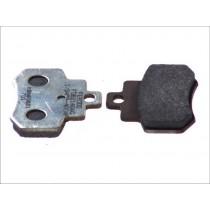 Kočne obloge Rear argento-AG 55 6x46x7mm KYMCO GRAND DINK 250 2001-