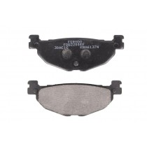 Kočne obloge Rear eco friction-EF 100 1x38 3x12mm