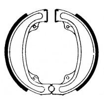 Kočione obloge set front 140x25mm include springs HONDA CR XR 125/250/500 1970-