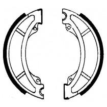 Kočione obloge set front 150x25mm include springs YAMAHA SR 250 1987-