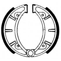Kočione obloge set front 125x28mm include springs MONTESA COTA MH TRIAL 123-349 1983-