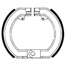 Kočione obloge set front 150x25mm include springs PIAGGIO/VESPA GS RALLY SPRINT SS 150-200 2000-