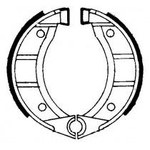 Kočione obloge set front 104x22mm include springs GARELLI FORMUNO 50 1987-