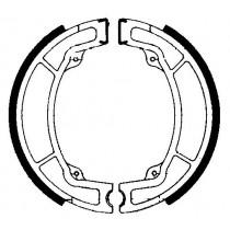 Kočione obloge set front 130x22mm include springs YAMAHA IT TT TY YZ 125-500 1976-