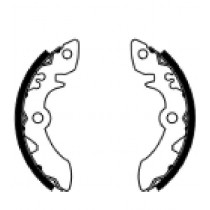 Kočione obloge set front 140x20mm include springs