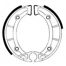 Kočione obloge set front 125x25mm include springs APRILIA SCARABEO 50 1994-