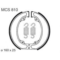 Kočione obloge set front 160x25mm include springs HONDA XL 500 1979-