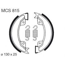 Kočione obloge set front 130x25mm include springs HONDA XL XR 500 1982-