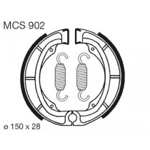 Kočione obloge set front 150x28mm include springs KAWASAKI KL KX