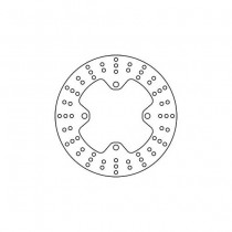 Disk Front 240/105/5mm, number of holes-4 10,5/125mm