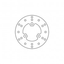 Disk Front 160/58/3mm, number of holes-3 10,5/80mm